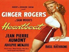 'HEARTBEAT' (1946) Ginger Rogers - Adolphe Menjou - Basil Rathbone - FULL Film. ***The film quality doesn't seem too fantastic on this one.. but I really love Ginger Rogers as an actress, and I don't think I've ever seen this one.