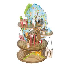 Herný set Roba Kids Four Seasons Tree