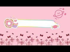Intro no text cute pink- Mamah noura Youtube Channel Name Ideas, Youtube Channel Art, Foto Youtube, Youtube Logo, Youtube Banner Template, Youtube Banners, Vintage Flowers Wallpaper, Flower Wallpaper, Anime Scenery Wallpaper