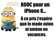 Mode avion en voyage!! Minions Quotes, Jokes Quotes, Funny Quotes, Minion Talk, Some Jokes, Geek Humor, Teenager Posts, Laugh Out Loud, Frases
