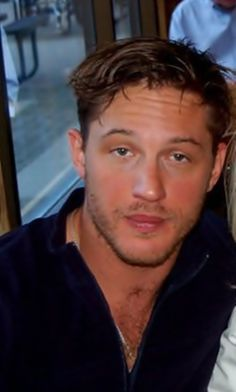 Aww how cute! A young  stoned Tom Hardy.