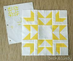 I've been trying my hand at designing my own quilt blocks with graph paper and colored pencils and it's so much fun! I'm focusing on blocks...