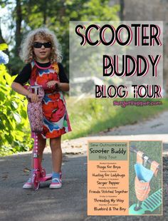 Scooter Buddy Blog Tour - Sew Outnumbered