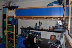 Kura bed to loft bed hack - IKEA Hackers