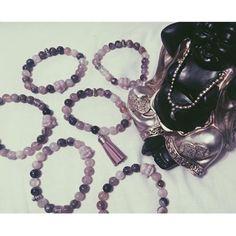 """Purple Buddha bracelets! Purple """"Laughing Buddha"""" bracelets from Buddhaful Human Boutique. Brand new! ☪☯☮⚛♒️ Buddhaful Human Boutique Jewelry Bracelets"""
