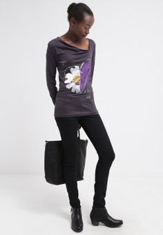 Desigual - EUPHEMIA - T-shirt à manches longues - gris tormenta