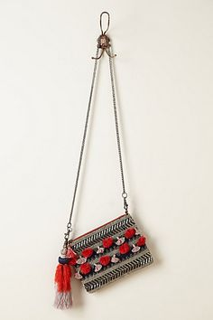 Samirah Tassel Bag    #anthropologie