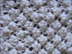 Como Tejer Punto Garbanzo Popcorn Stitch 2 agujas (12) Knitting Paterns, Knitting Videos, Crochet Videos, Knitting Designs, Knit Patterns, Crochet Stitches, Stitch Patterns, Chunky Crochet, Knit Crochet