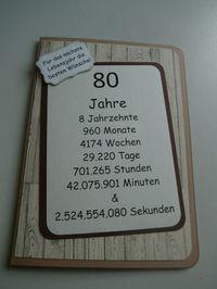 Einladungskarten Zum 80. Geburtstag Selbst Drucken