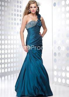 One-Shoulder Floor Length Evening/Prom Dresses