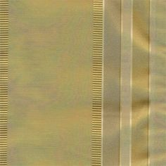 Provence in Antique Gold stripe: Custom Cafe Tier Curtains in faux raw silk poly blend fabric : combination of matte and embroidered stripe in shimmer finish
