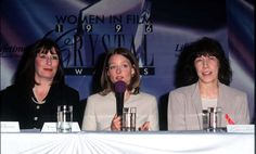 Women in film 1996 Anjelica Huston jodie foster lily tomlin