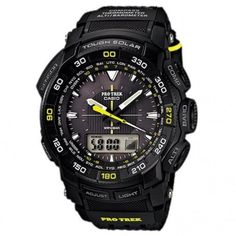 Casio Protrek Watches - Designed for Durability. Casio Protrek - Developed for Toughness Forget technicalities for a while. Let's eye a few of the finest things about the Casio Pro-Trek. Casio Protrek, Cool Watches, Watches For Men, Men's Watches, Black Watches, Wrist Watches, Sport Watches, Luxury Watches, Solar Watch