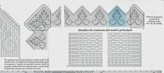 View album on Yandex. Filet Crochet, Diy And Crafts, Projects To Try, Crochet Patterns, Diagram, Peru, Paint, Table, Farmhouse Rugs