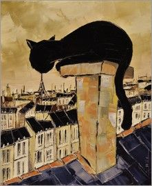 JIEL - The cat on the chimney