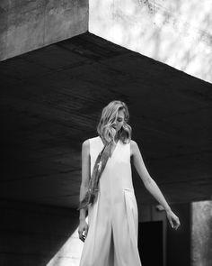 Florenz scarf featured in Vein Magazine Editorial