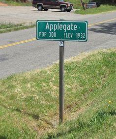 Applegate, CA