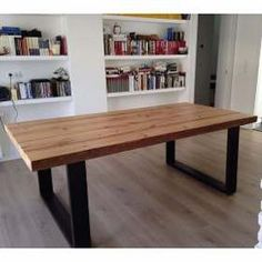 Get the Dining Table. Handmade Dining Table with Modern Finishes at Affordable prices in SA. Contact us to get the Dining Table now. Wooden Dining Tables, Dining Room Table, Wood Table, Industrial Design Furniture, Wood Furniture, Furniture Design, Living Spaces, Sweet Home, Interior Design