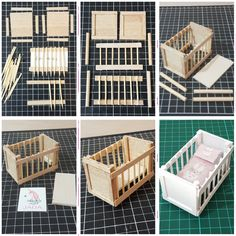 Dollhouse miniature DIY baby cot I made using Dollhouse miniature DIY . - Dollhouse miniature DIY baby cot I made using Dollhouse miniature DIY … Dollhouse miniature DIY baby cot I made using Dollhouse miniature DIY baby cot I made using Barbie House Furniture, Doll Furniture, Modern Dollhouse Furniture, Popsicle Crafts, Craft Stick Crafts, Miniature Crafts, Miniature Dolls, Diy Dollhouse Miniatures, Miniature Tutorials