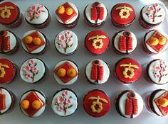 chinese new year cupcakes ------- #china #chinese #chinesenewyear #cake