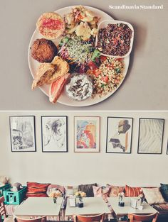 Cafe N - Eating Vegetarian & Vegan in Copenhagen   Scandinavia Standard  Veggies, veggies, veggies. This cute little cafe serves vegetarian food all day, including a great veggie burger and brunch plate. Nothing too fancy; just cosy, hearty and delicious.