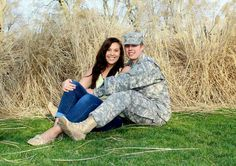military photography. love him! Army girlfriend