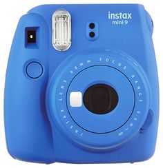 Fujifilm Instax Mini 9 (Cobalt Blue) Deluxe kit bundle Includes -Instant camera with Instax mini 9 instant films pack) - Custom Camera Case - instax Album – Frames - wall hang frames- - Stickers - Close up lens + MORE … Fuji Instax Mini, Instax Mini 8 Blue, Instax Mini Camera, Polaroid Fujifilm, Fujifilm Instax Mini 8, Polaroid Cameras, Polaroids, Instant Camera Reviews, Instant Film Camera