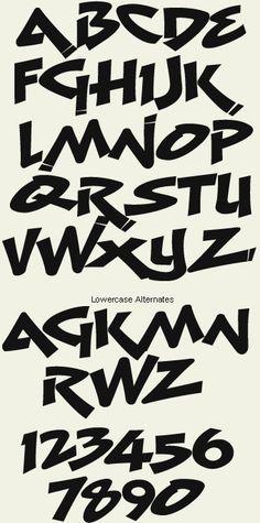 Letterhead Fonts / LHF Menace / Graffiti Fonts