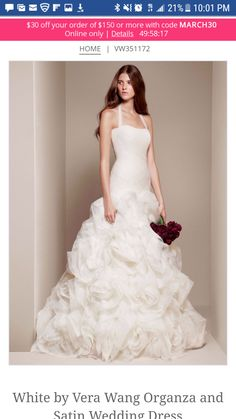 Vera Wang 35100160, $1,100 Size: 10   New (Un-Altered) Wedding Dresses