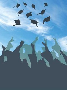 WE have a huge selection of graduation backdrops for your next photo shoot or graduation party!backdropoutle… 6136 Graduation Hat Toss To The Sky Backdrop – Backdrop Outlet Background For Photography, Photography Backdrops, Senior Photography, Graduation Wallpaper, Vinyl Backdrops, Instagram Frame, Wallpaper Backgrounds, Aesthetic Wallpapers, Vivid Colors