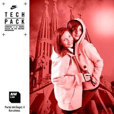 AW LAB Portal del Àngel - Barcelona #awlab #barcelona #nike #techpack