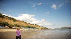 one of the UK's Blue Flag beaches: Shanklin, Isle of Wight