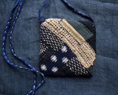 treasury / small bag pouch in shades of night in by lesamovar