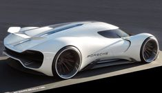 Porsche Electric Le Mans 2035 - Gilsung Park - Winter Semester - Master Thesis - Hochschule Pforzheim with Advanced Studio PORSCHE AG Auto Design, Design Autos, Le Mans, Porsche 918, Sexy Cars, Hot Cars, Flying Car, Futuristic Cars, Koenigsegg