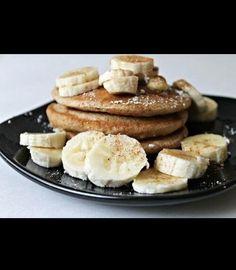 Banana pancakes, 2 eggs 1 banana and cinnamon. Its the good life