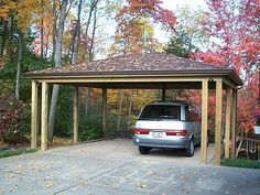 Car Ports Cars And Detached Garage On Pinterest