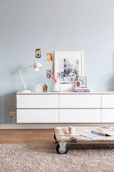Op zoek naar inspiratie voor een zwevend dressoir op maat van 100% Kast? http://100procentkast.nl/
