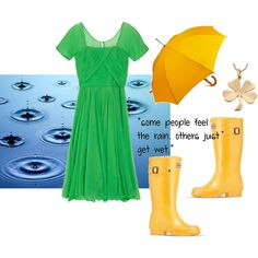 """""""It's a rainy day - Spring"""" by goldkehlchen on Polyvore"""