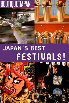 Our guide to the best Japanese festivals, including Awa Odori, Takayama's Spring & Fall Festivals, Gion Matsuri, Nebuta Matsuri & more!