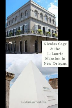 Things to do in New Orleans, Things to do in Louisiana, ghost tours in New Orleans, Nicolas Cage in New Orleans, LaLaurie Mansion in New Orleans, haunted locations in New Orleans, dark history in New Orleans, spooky things to do in NOLA #neworleans #louisiana #nola #ghosttour #haunted