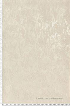 Papier froissé irisé blanc - Papier peint Florentina de Montecolino