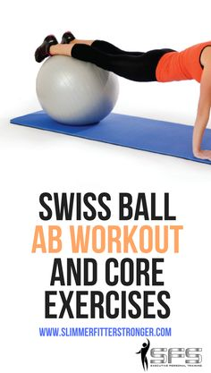 Swiss ball ab workout and core exercises Try these swiss ball ab workout and core exercises. Swiss Ball Exercises, Core Exercises For Women, Stability Ball Exercises, Ab Exercises, Abdominal Exercises, Killer Workouts, Fun Workouts, Core Workouts, Bosu Workout
