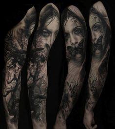 dark scene by Florian Karg | tattoo artist – Bayern, Germany
