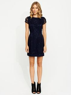 Image for Embroided Shift Dress from Portmans