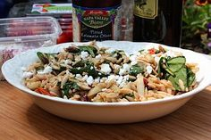 Mediterranean Orzo Salad - Only the Best for Mom - Eating Bird Food
