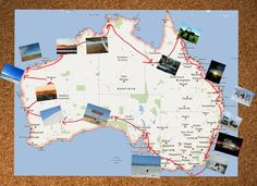 My 1 year road trip itinerary for Australia.