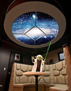 Ruiz Residence Star Wars room