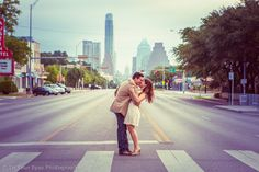 Engagement photo on South Congress, Austin, Texas.  In Your Eyes Photography.  http://inyoureyesphotography.com