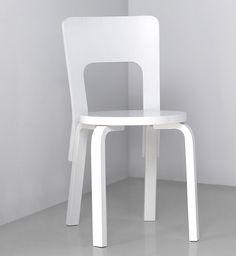 Artek, chair 66 by Alvar Aalto Alvar Aalto, Furniture Design, Chairs, Cozy, Interiors, Bar, Inspired, Mini, Kitchen