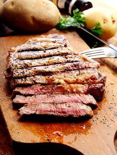 Steak-medium-braten